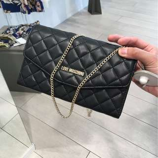 moschino mini bag 黑色斜咩袋