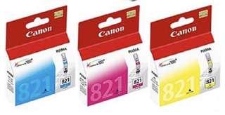 Canon Ink Cartridge 821 (ORIGINAL)