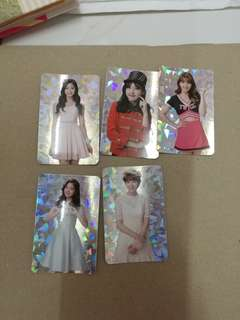 Twice encore special card