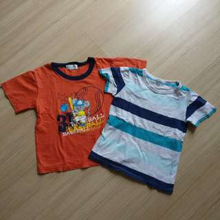 Boy T shirts 2 pieces