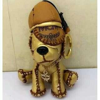 MCM DOG keychain