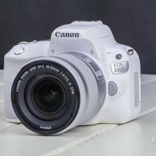 Camera Canon Dslr 200D Bisa di cicil tanpa kartu credit promo (nikon)