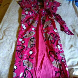 Dress batik katun size S/M