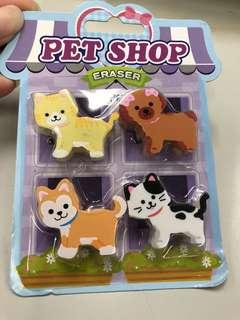 海洋公園Pet Shop Eraser