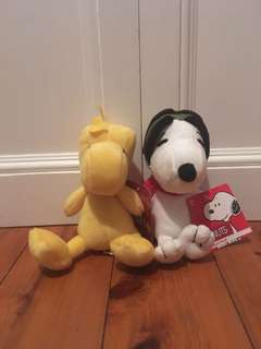 Snoopy & Woodstock Plush