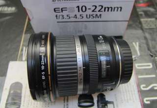 Canon 10-22 f4 usm