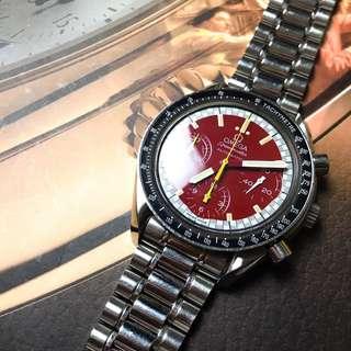 "Omega Speedmaster Reduced ""Michael schumacher"" Dial"