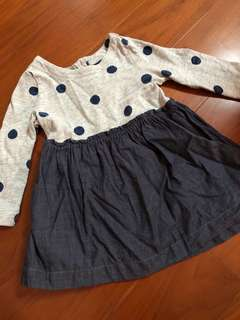 🚚 Babygap 18-24洋裝