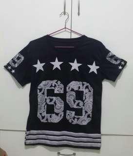 (RUSH!!!) Black 69 Unisex T-shirt