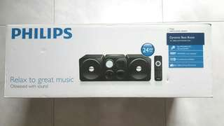 Philips cube micro sound system.