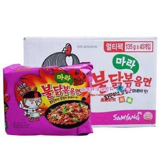 5 Samyang 4x spicy