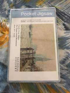 Pocket Jigsaw Puzzle - Monet's Thames Before the Westminster