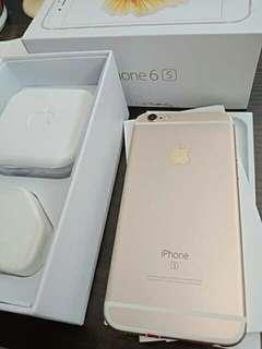 Iphone 6s.16gb warna gold