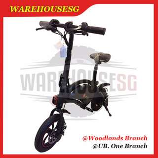 DYU Authorized Distributor ★ Dyu Smart Bike /Electric Scooter/E-Scooter ★ Lightweight ★ LTA APPROVED (INSTOCK)