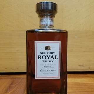 罕有水晶頭Suntory Royal 日本威士忌660ml
