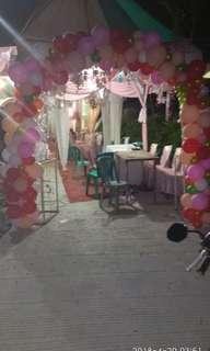 Balon dekor atau balon hias pengantin