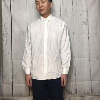 Men's White polo