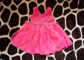 Pink dress for 18 months