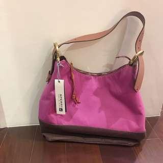 SPERRY 紫粉紅帆布包