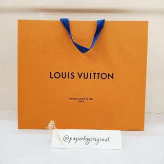 LV Paperbag Louis Vuitton Paper bag Authentic Original