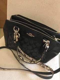 Coach 袋袋 99% new 100%real