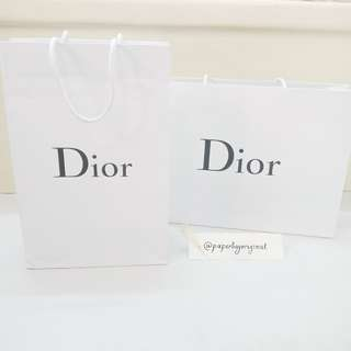 Dior Paperbag Authentic Paper bag original