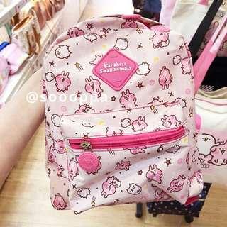【預購】台灣代購 PG Kanahei 卡娜赫拉的小動物 P助 粉紅兔兔 遨遊星空旅行 迷你背包 背囊 書包 小童 小朋友