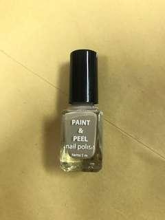 Paint and Peel Nail Polish