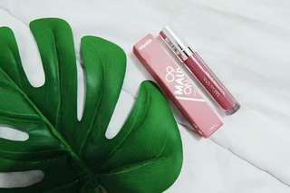 wardah matte lipstick mauve on no.9
