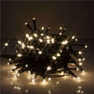461. Safe Voltage 500 Bright LEDs 100M String Fairy Lights for Christmas Tree Party Wedding Events (100M, Warm White)