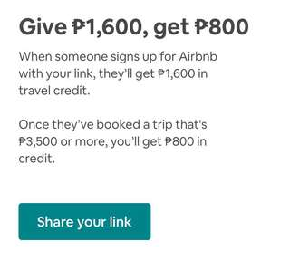 Airbnb promo discount code