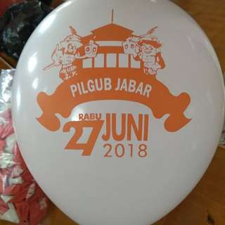 Balon latex , balon sablon