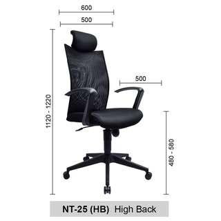 Office Chair/ Kerusi Pejabat Decimus (FREE SHIP)