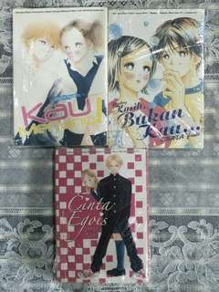 (3 books 1 set) Pre-love Komik/Manga - Obata Yuuki #bajet20