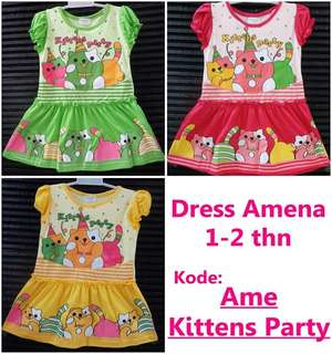 Dress amena anak murah