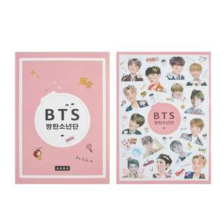 BTS TRANSPARENT STICKER