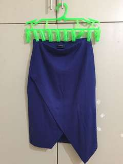 Blue Mid skirt