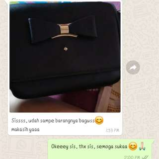 Testi againn from my lovely cust