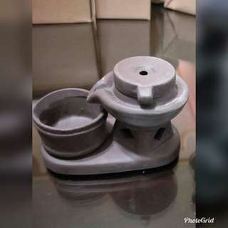 🚚 陶瓷工藝石磨香爐