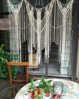 Macrame Backdrop Rental