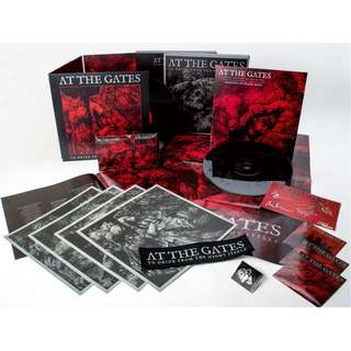 At The Gates ‎– To Drink From The Night Itself Box Set (limited 2000pcs)