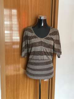 Light Knitted Batwing Top