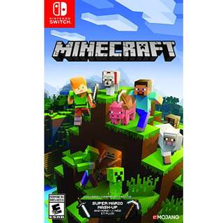 Preorder Minecraft - Nintendo Switch