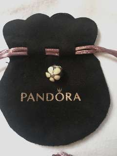 Authentic Pandora Daisy clip