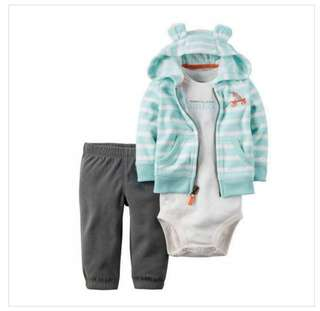 Onesie jumpsuit baju set carter original 9 month