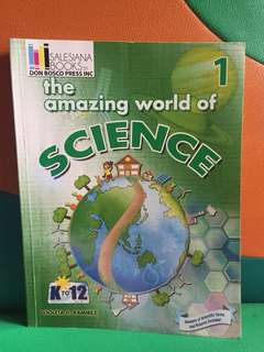 Science Book | Grade 1