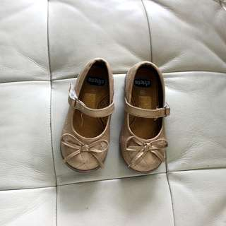 Chicco Gold Ribbon Shoes