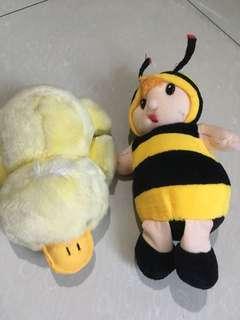 Boneka bebek n lebah