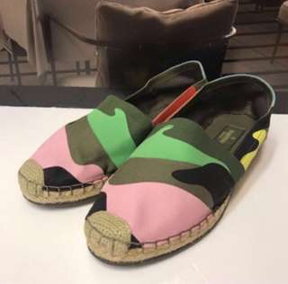 🈹Valentino Canvas Loafer