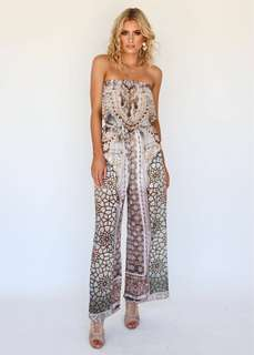 MOSIAC TUBE JUMPSUIT